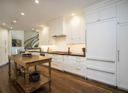 River Oaks kitchen cabinetry