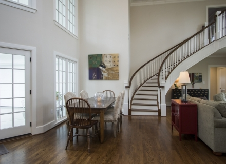 River Oaks staircase addition