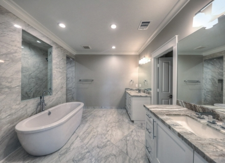 Houston new home bathroom