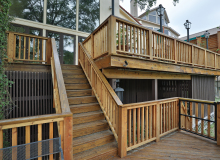 2 story deck