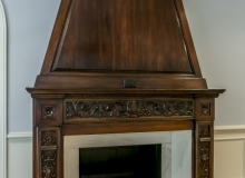 CBJ Britz bedroom fireplace