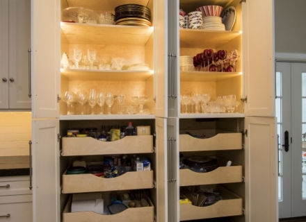 River Oaks pantry cabinet